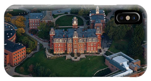 Aerial Of Woodburn Hall IPhone Case