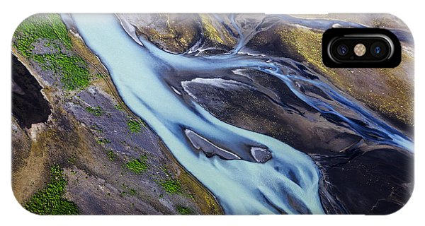 Aerial Photo Of Iceland  IPhone Case