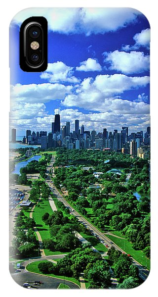 Aerial View Of Chicago, Illinois IPhone Case