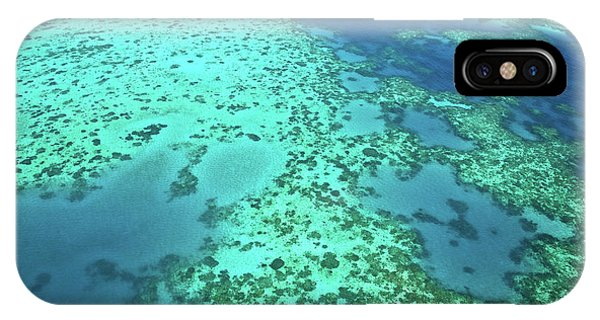 Aerial View Of The Great Barrier Reef IPhone Case