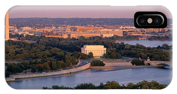 Aerial, Washington Dc, District Of IPhone Case