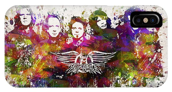 Aerosmith In Color IPhone Case