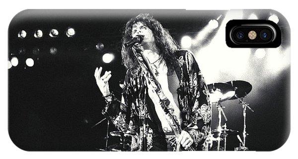 Steven Tyler iPhone Case - Aerosmith-steven-23 by Timothy Bischoff