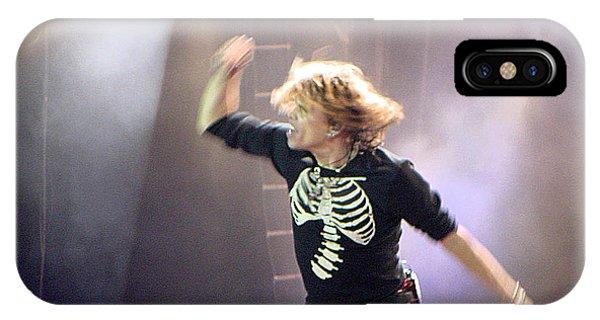 Steven Tyler iPhone Case - Aerosmith-steven Tyler-00193 by Gary Gingrich Galleries