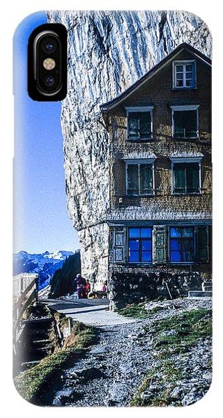 Aescher Hotel IPhone Case