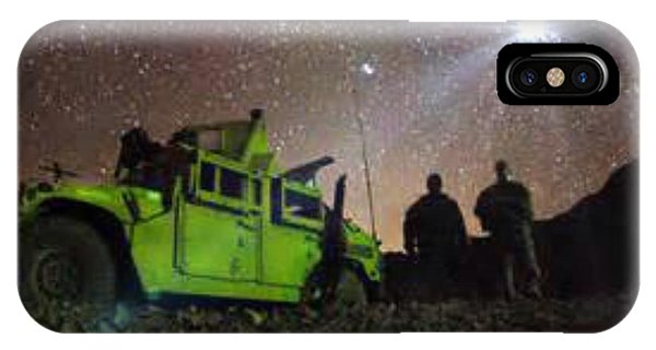 Afgan War Peace Sign IPhone Case