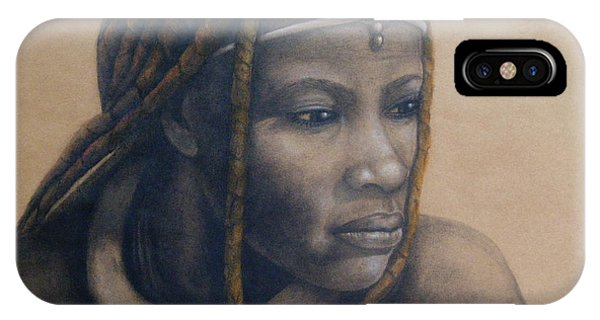 Afican Woman IPhone Case