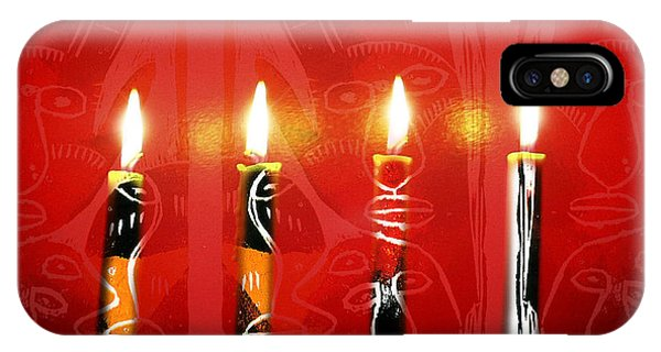 African Candles IPhone Case
