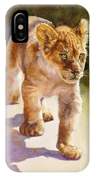 African Lion Cub IPhone Case