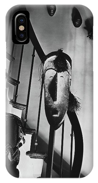 African Masks And Drums In Eugene O'neill's IPhone Case