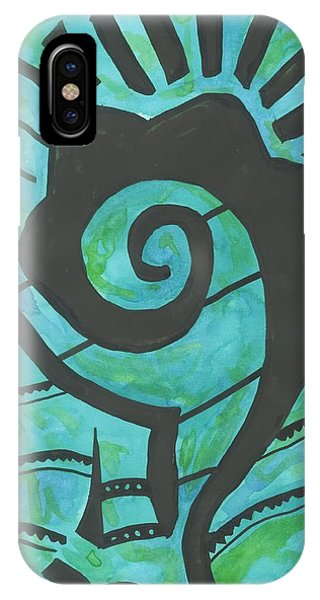 African Question Mark IPhone Case
