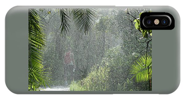 African Rain IPhone Case