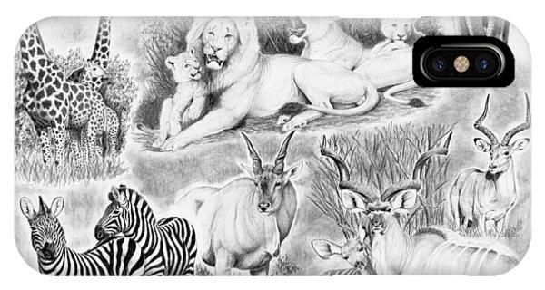 African Safari IPhone Case