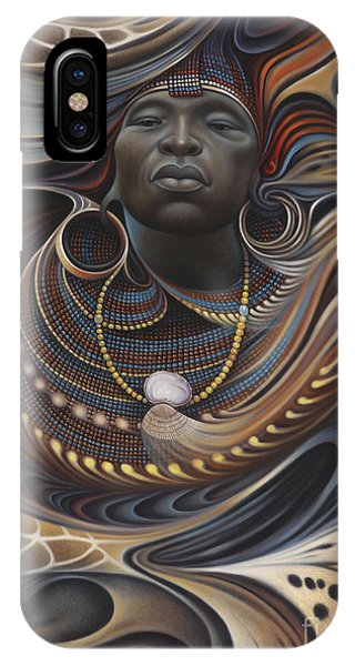 Safari iPhone Case - African Spirits I by Ricardo Chavez-Mendez