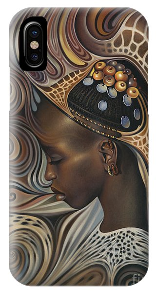 Africa iPhone X Case - African Spirits II by Ricardo Chavez-Mendez