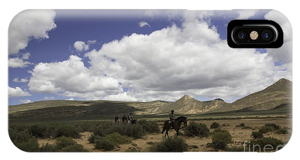 African Trail Ride IPhone Case