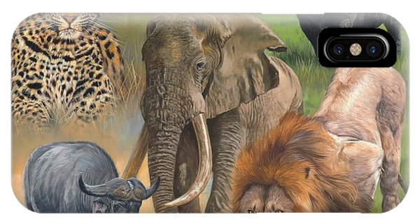 Africa's Big Five IPhone Case