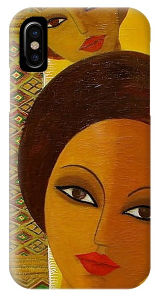 Afro Beauty IPhone Case