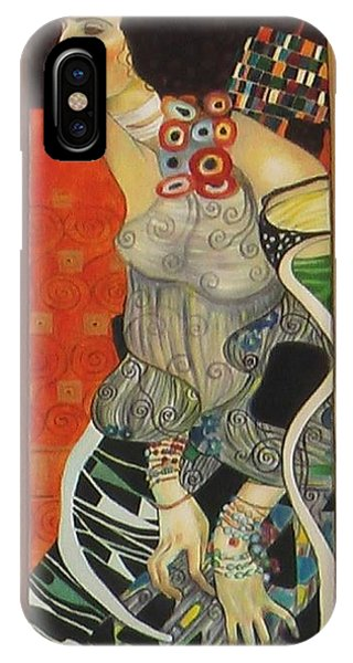 After Gustav Klimt IPhone Case