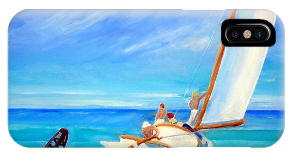 After Hopper- Sailing IPhone Case