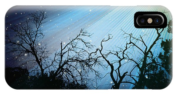 After Life Light Trail No. 4802v IPhone Case