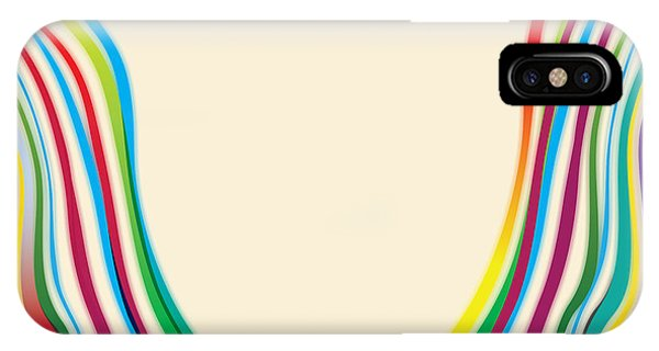 Layered iPhone Case - After Morris Louis 2 by Gary Grayson
