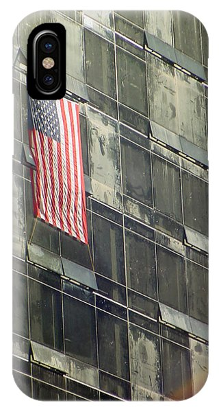 After Sep. 11 Flag On Millennium Hotel IPhone Case