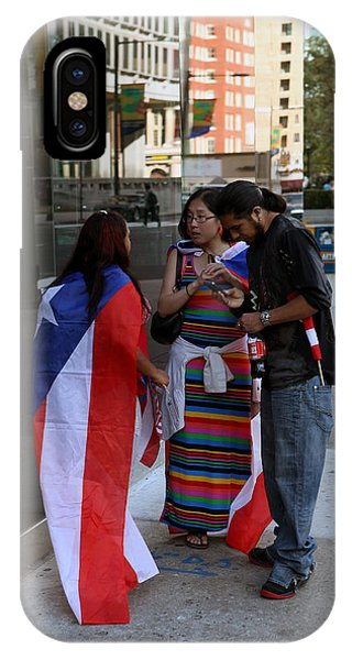 After The Puerto Rican Day Parade IPhone Case