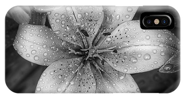 Monochrome iPhone Case - After The Rain by Scott Norris