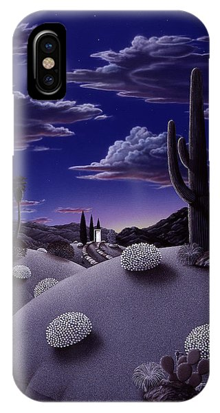 Desert iPhone X / XS Case - After The Rain by Snake Jagger
