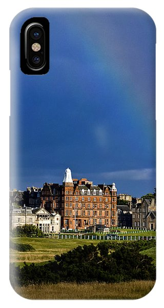 After The Storm At St. Andrews Golf Old Course Scotland IPhone Case