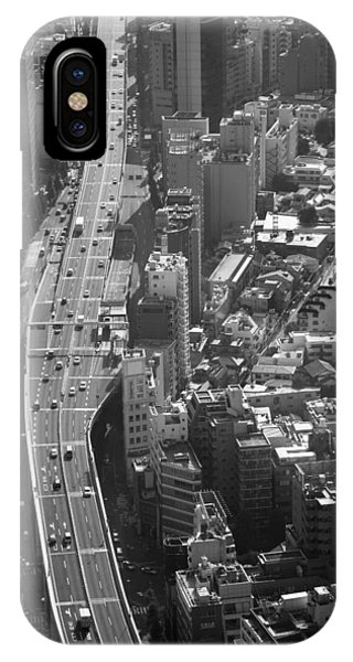 IPhone Case featuring the photograph Afternoon Above Tokyo by Brad Brizek