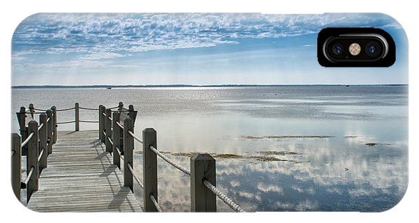 Afternoon At Currituck Sound IPhone Case