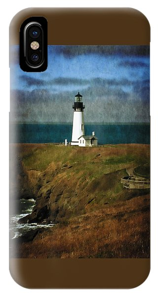 Afternoon At The Yaquina Head Lighthouse IPhone Case