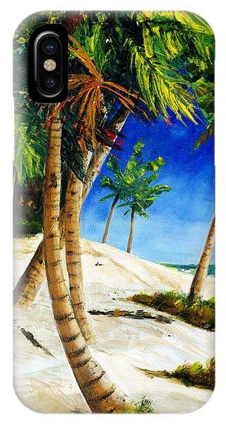Afternoon Beach Walk IPhone Case