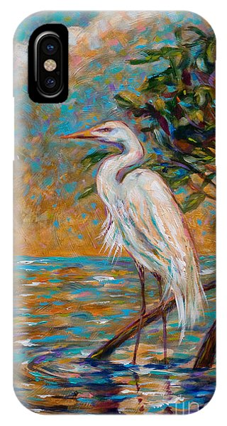 Afternoon Egret IPhone Case