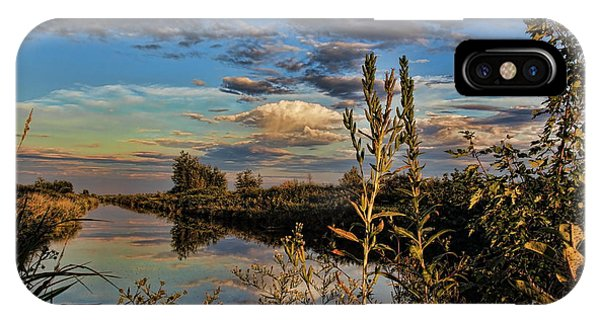 Late Afternoon In The Mead Wildlife Area IPhone Case
