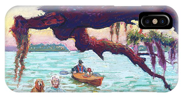 Afternoon Kayak IPhone Case