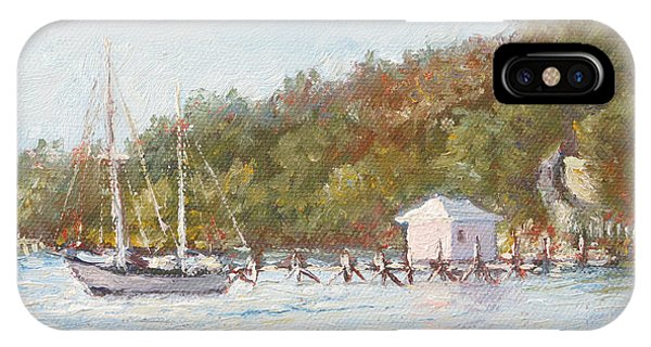 Afternoon On The Bay IPhone Case
