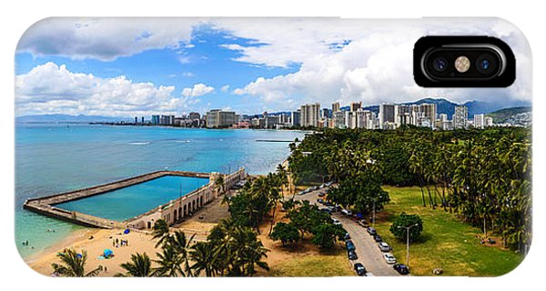 Afternoon On Waikiki IPhone Case