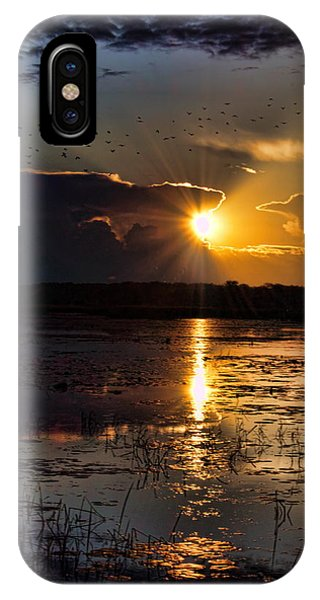 Late Afternoon Reflection IPhone Case