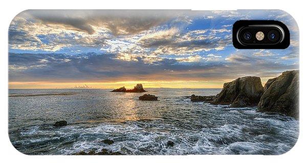 Afternoon Sky In Laguna Beach IPhone Case