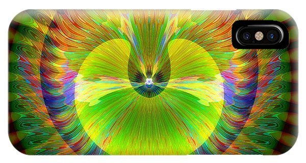 IPhone Case featuring the digital art Afternoon Sunrise by Visual Artist Frank Bonilla