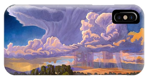 Anvil iPhone Case - Afternoon Thunder by Art West