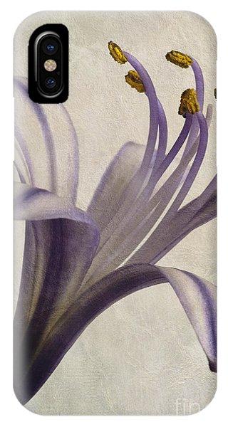 Agapanthus Africanus Star IPhone Case