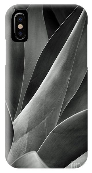 Agave In Black And White IPhone Case