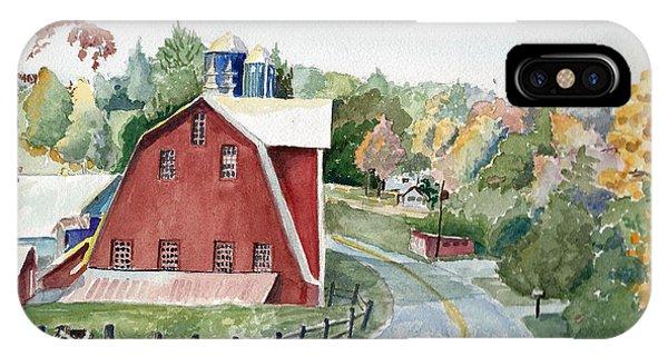 Pennsylvania - Agawam Barn IPhone Case
