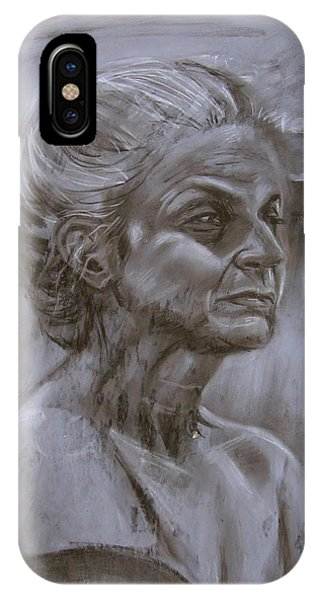 Aged Woman IPhone Case
