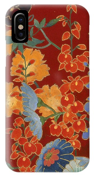 Peony iPhone Case - Agemaki Crop II by MGL Meiklejohn Graphics Licensing