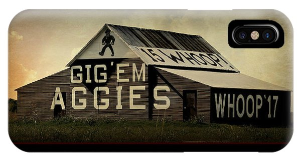 Aggie iPhone Case - Aggie Barn - Aggie Code Of Honor by Stephen Stookey